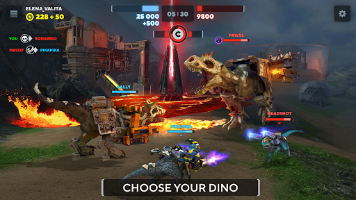 Dino Squad: TPS Dinosaur Shooter 0.9.5 screenshots 3