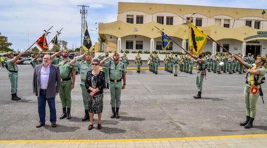 La Legión honra al sargento Fuentes, fallecido en un accidente hace 17 años
