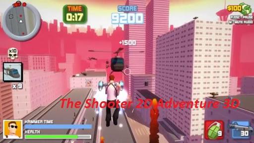 Shooter 2D Adventure 3D free