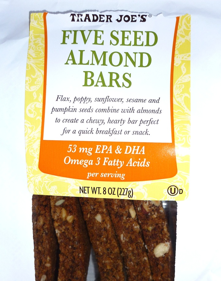 Five Seed Almond Bars