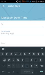 Auto SMS screenshot 3