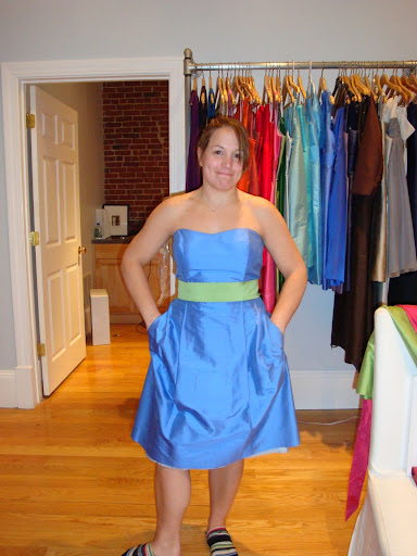 Carolyn ; Plus Size Bridesmaid Dress, Gown