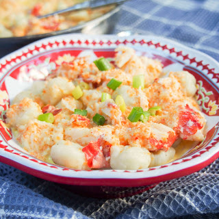 Lobster gnocchi #SundaySupper