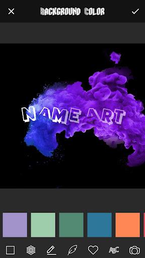 3D Smoke Effect Name Art Maker 3.0 screenshots 4