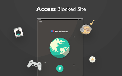 Free unblock VPN& security VPN by VPN Proxy Master Capture d'écran