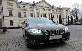 BMW 5 F10 Rent Lubelskie