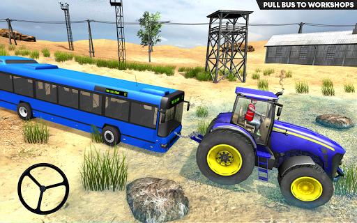 Tractor Pull Farming Simulator: Free Game 2020  captures d'écran 2