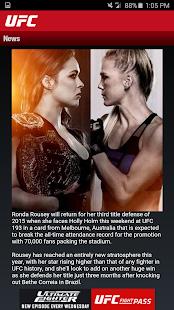 UFC.TV & UFC FIGHT PASS Screenshot 5