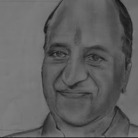 AABASAHEB ! MY FATHER .........PENCIL ART BY MI !18/04/15 by Vaibhav Chavan - Drawing All Drawing