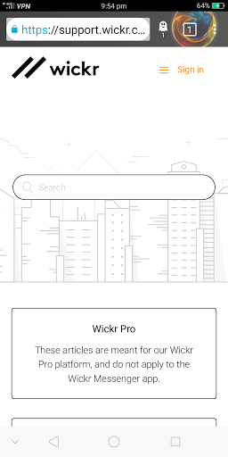 Wickr Me – Private Messenger - Apps on Google Play