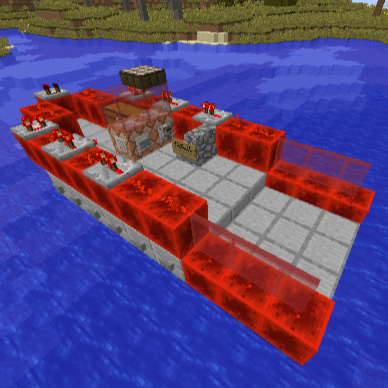 RedStone MotorBoat