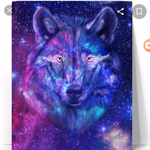 Glamour wolf