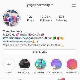Yogapharmacy instagram