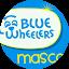 Blue Wheelers Mascot