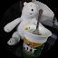 Polar bear pot noodle
