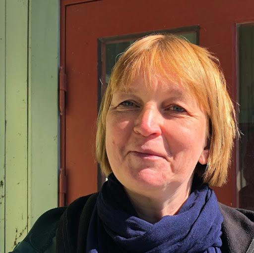 Bild på författaren, Eva Hörnblad