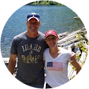 Photo of Tanya and Pete Volk
