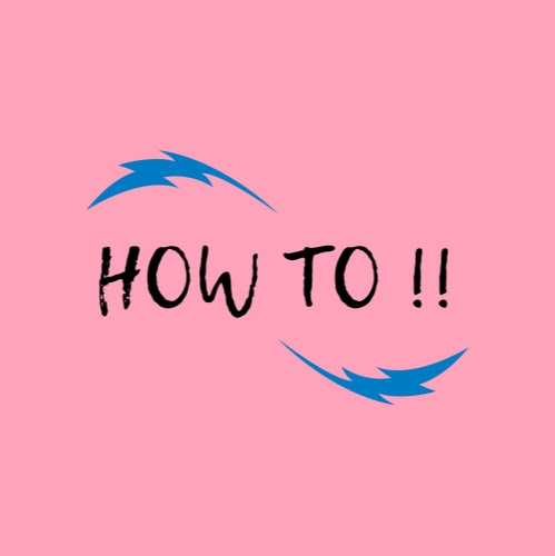 User image: How To !!