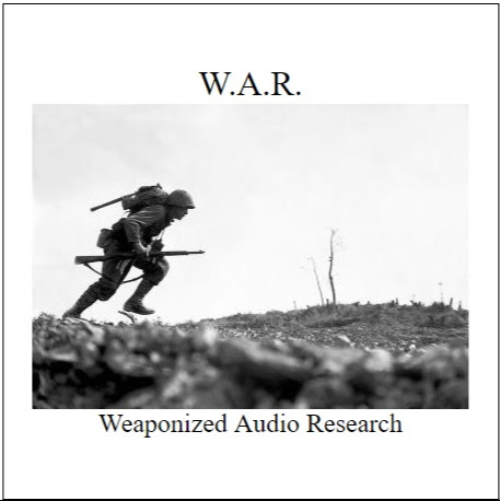 Weaponized Audio Research