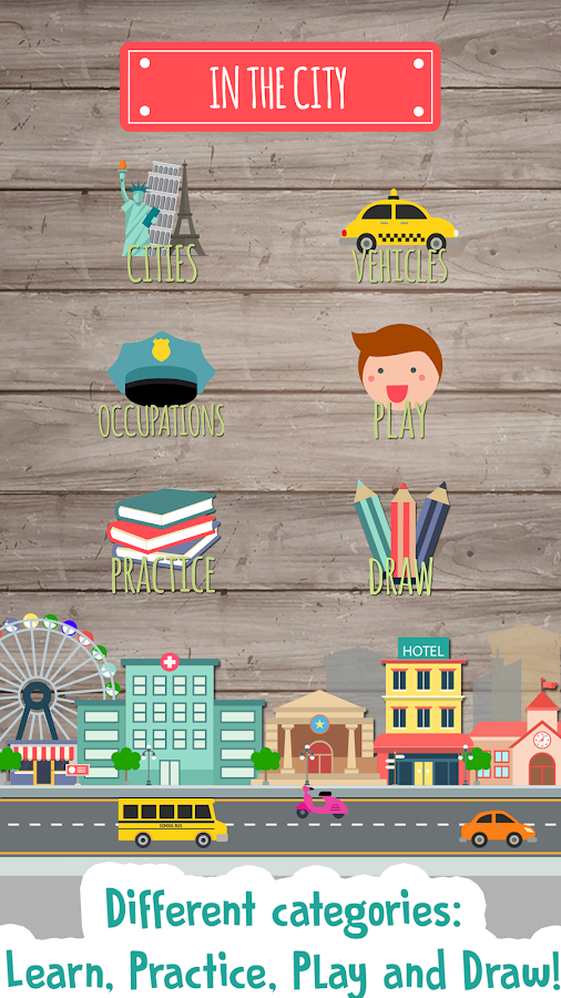 Kids City Game: Preschool- screenshot