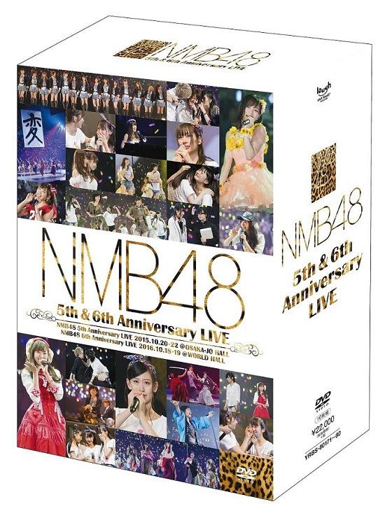 (DVDRIP) NMB48 5th & 6th Anniversary LIVE DVDRIP Disc1 ~ Disc10