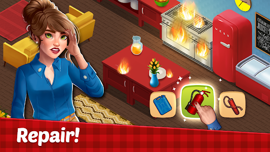 Fancy Cafe - Restaurant Renovation Games 1.9 (Mod Money/Stars)
