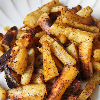 Spiced Sweet Potato Fries.