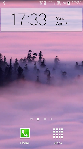 Foggy Live Wallpaper