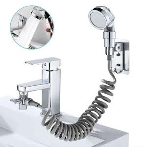 Dozator de sapun spuma 250 ml + Extensie dus pentru robinet