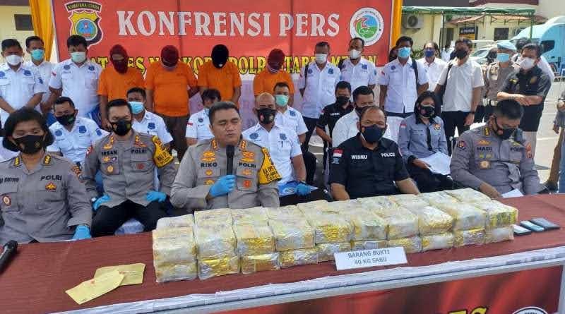 Polrestabes Medan Bongkar Penyelundupan Sabu 40 Kg, 4 Kurir Lintas Malaysia – Aceh – Medan Ditangkap