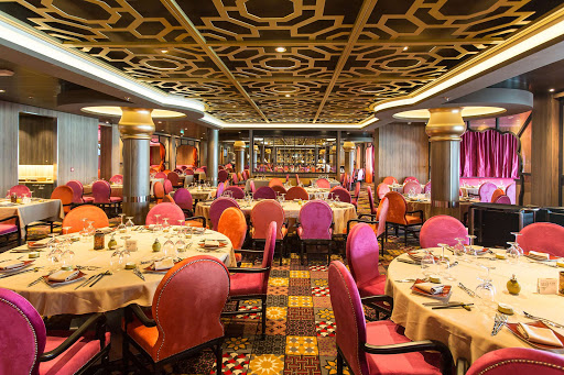 Anthem-of-the-Seas-Silk-restaurant - Enjoy a vibrant tapestry of pan-Asian flavors at Silk restaurant aboard Anthem of the Seas.