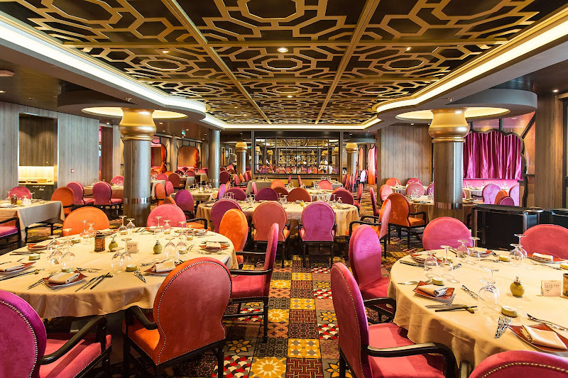 Enjoy a vibrant tapestry of pan-Asian flavors at Silk restaurant aboard Anthem of the Seas.