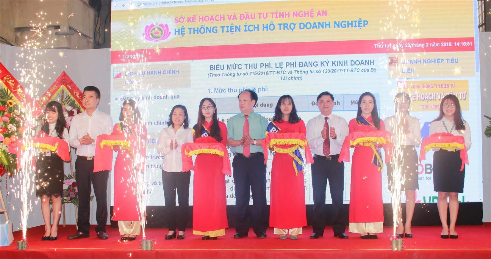 Việc xây dựng Cổng thông tin hỗ trợ doanh nghiệp của UBND tỉnh Nghệ An tạo điều kiện để doanh nghiệp tiếp cận thông tin dễ dàng hơn