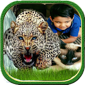 Wild Animals Photo Frame
