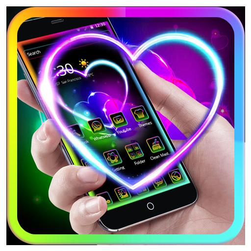 Free Neonsign Psd: [Pi Preferito] Sfondi Neon Cuore