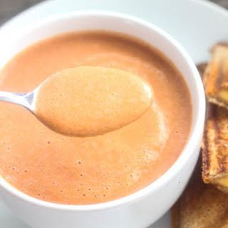 5 Minute Creamy Tomato Soup
