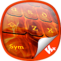 Keyboard Plus Fire Skull 1.0 icon