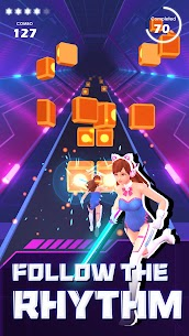 Beat Saber Rhythm Game MOD APK [VIP Subscription Unlocked] 4