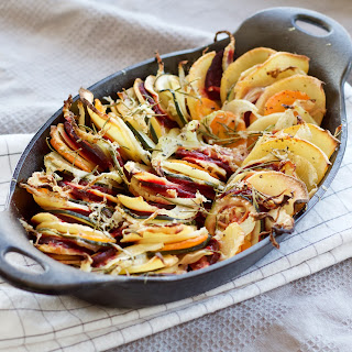 Layered Root Vegetable Bake