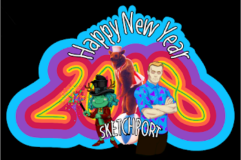 Happy New Year Sketchport 2018