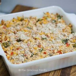 "Clean Eating ""No Noodles"" Tuna Casserole"