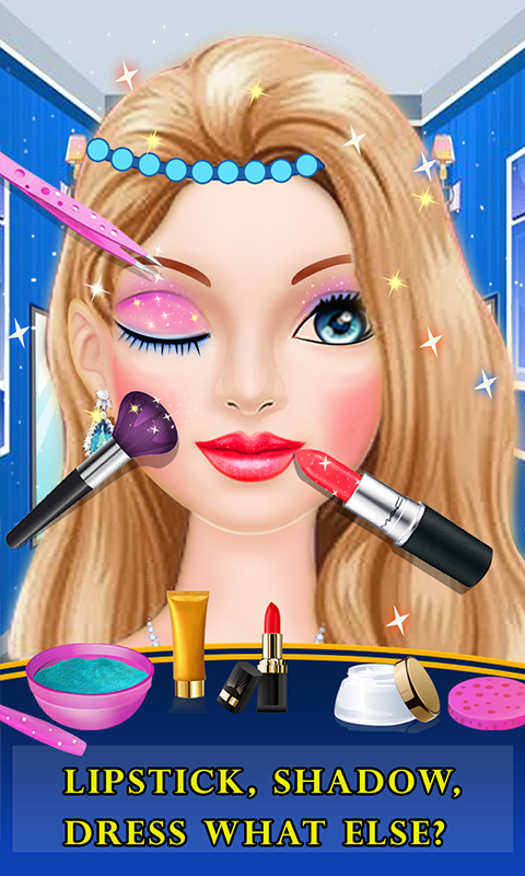 Doll Makeover Princess Salon- screenshot