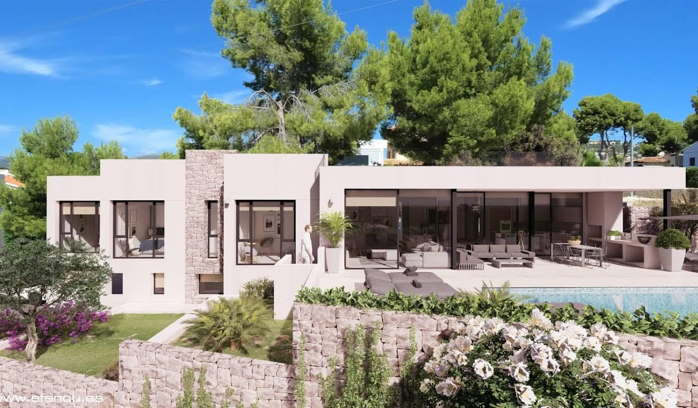 Villa avec piscine et terrasse Calpe