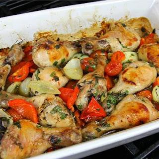 Oven Roasted Chicken Drumsticks Recipe..
