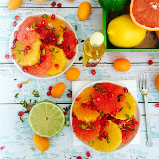 Citrus Salad With Pistachios And Pomegranate