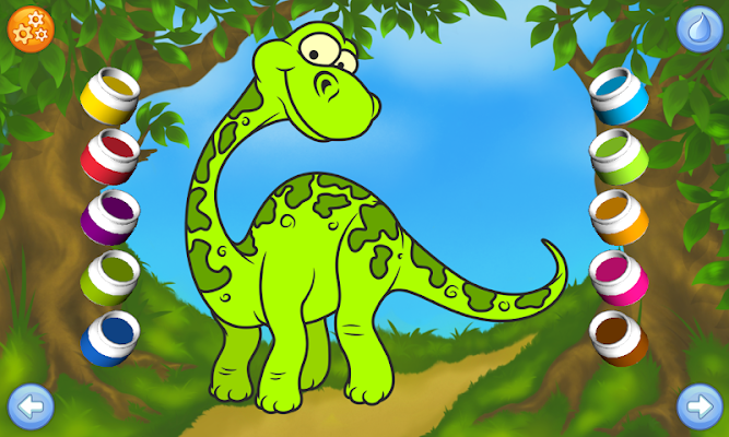 Dinosaur - Connect the Dots - screenshot