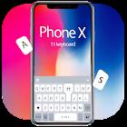 Thème de clavier Élégant Phone X icon