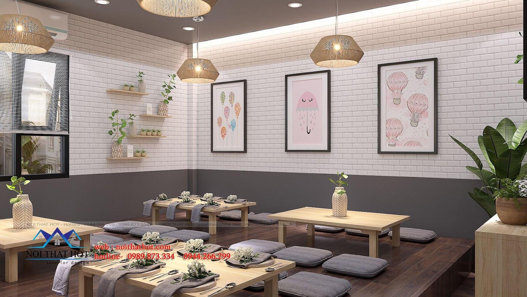thiết kế nhà hàng trường giang 18