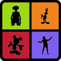 Guess the Character Shadow: Shadow Quiz Game icon