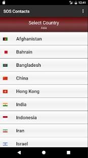 World Emergency Numbers - náhled